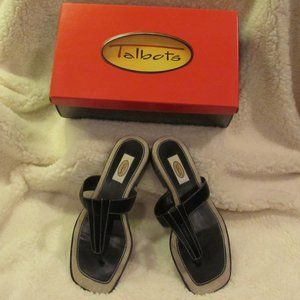 Talbots Leather Thong Sandals